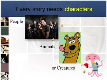 Story / Literary Elements Powerpoint