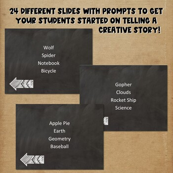Storytelling PowerPoint Game