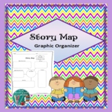 Story Map Graphic Organizer - Story Elements