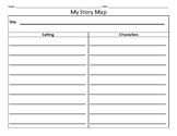 Story Map - 5 Finger Retell - Fiction Books