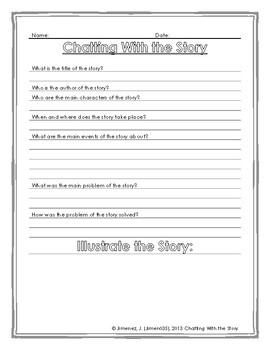 Story Map Activity Worksheet