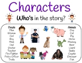 Story Map Charts and Worksheets