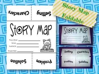 Story Map Foldable