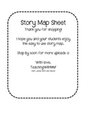 Story Map Graphic  Organizer