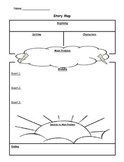 Story Map Graphic Organizer - Lightning Cloud/Sun Problem
