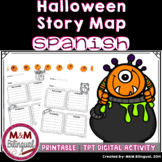 Story Map ~Halloween {SPANISH} FREEBIE~