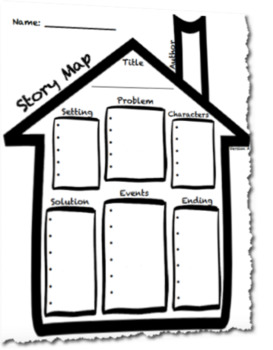 story map graphic organizer pdf