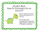 Story Map: How Do Dinosaurs Go to School?