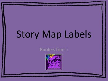 Story Map Labels