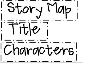 image relating to Story Map Printable known as Tale Map Labels -Printable!