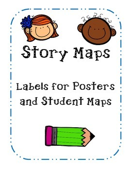 Story Map Labels and Student Maps