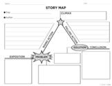 Story Map / Plot Diagram Graphic Organizer