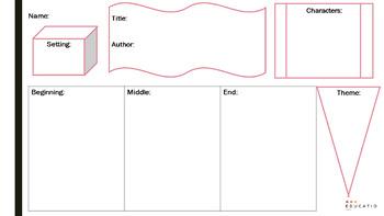 Story Map & Plot Templates (Reading)