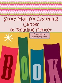 Story Map Primary Level Reading Center Listening Center