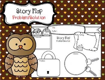 (FREE) Story Map Organizer - Problem & Solution