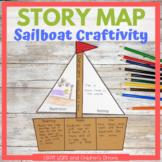 Story Map Sailboat Craft Activity