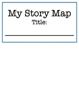 Story Map (Story Elements) Flip Chart