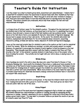 Story Map (Story Elements) Poster Project