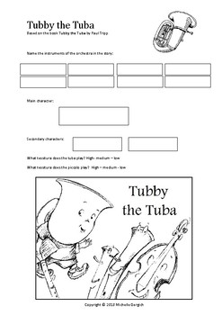 Story Map - Tubby the Tuba