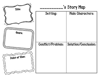 Story Map and Plot Chart