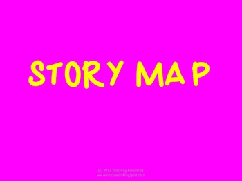 Story Map (great for bulletin boards!)