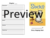 Story Mapping Book for Socks by Beverly Cleary CCGPS