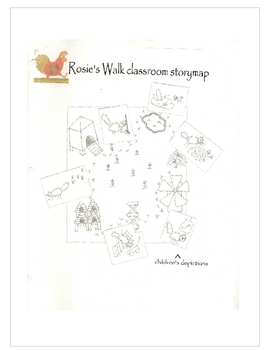 Story Mapping- Rosie's Walk