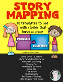 Story Mapping {Templates} for Stories with a Clear Problem & Solution!