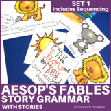 Story Grammar and Sequencing   Aesop's Fables   With Stories