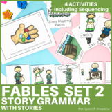 Story Grammar and Sequencing | Fables and Fairy Tales | Set 2