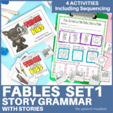 Story Mapping and Sequencing: Folk Tales (Stories Included)
