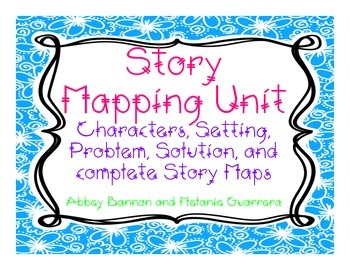 Story Mapping/Retelling Unit for Firsties