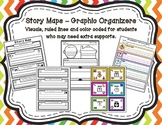 Story Maps-Graphic Organizers with Visuals and Ruled Lines
