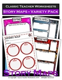 Story Maps - Standard Story Maps - Variety of Different Story Maps