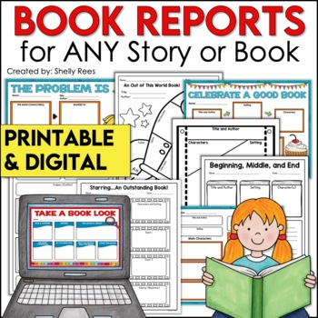 Story Maps and Graphic Organizers for Novels and Stories