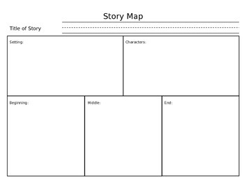 Story Maps for Early Elementary