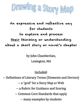 Story Maps or Story Webs (Creative Graphic Organizers)