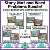 Story Mat and Word Problem Bundle (addition and subtractio