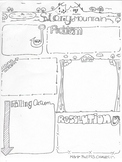 Story Mountain Plot Structure Worksheet