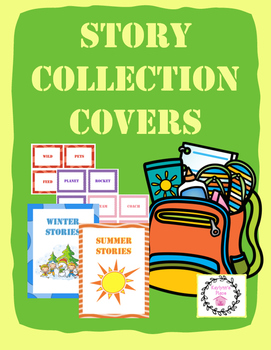 Story Notebook Collection Covers