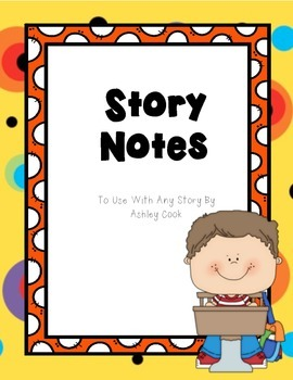 Story Notes For Primary Grades