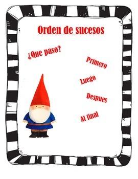 Story Order/Order de sucesos