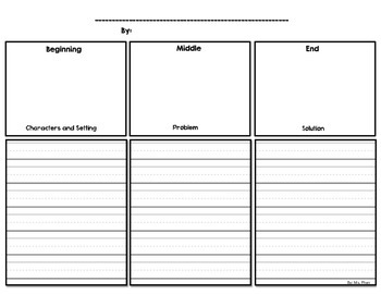 Story Outline: Beginning Middle End