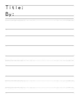 Story Paper for final drafts
