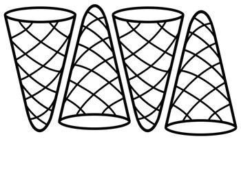 Story Parts Ice Cream Cones