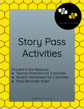 Story Pass- Two Social Centers/ Creative Writing Activities