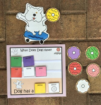 Dog a Donut, Story Pictures & Activity Set Autism Support