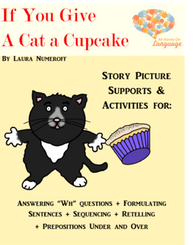 Cat a Cupcake, Story Pictures & Activity Set Autism Support