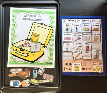 Story Pictures & Activity Set; Mouse a Cookie