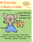 Mouse a Cookie, Story Pictures & Activity Set Autism Support